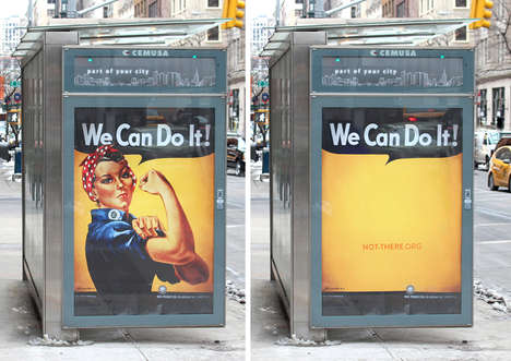 Striking Womanless Ads - Droga5's Gender Equality Campaign Proves Something is Missing