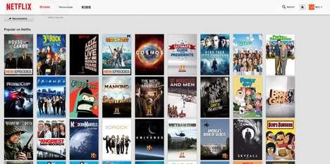 Accommodated Streaming Apps - Netflix God Mode Smites the Horizontal Scrolling Feature