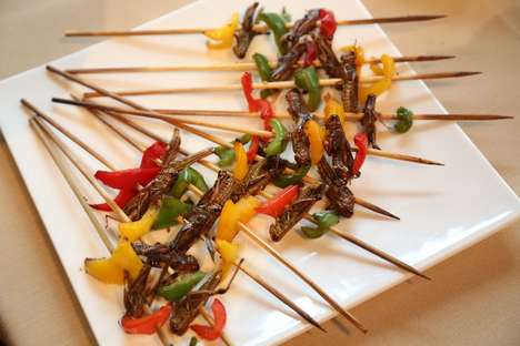 Gourmet Insect Appetizers - This Year's Explorers Club Dinner Features a Feast of Bugs