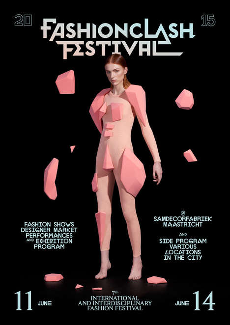 Conceptual Fashion Festivals - The FASHIONCLASH Festival Will be Held at Maastricht City Centre