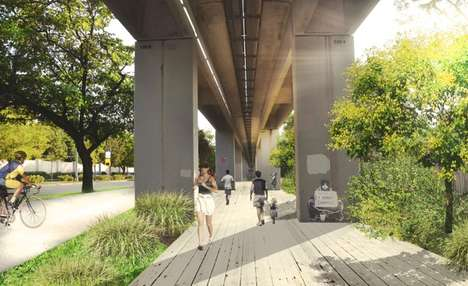 Revitalizing Urban Park Projects - Miami's Metrorail Could Include a Park and Urban Trail