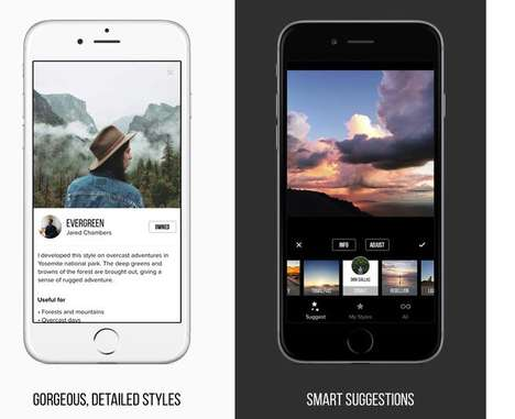 Professional Photo Apps - The Priime App Features Filters Created by Professional Photographers