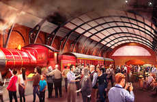 Fantasy Train Rides - Warner Bros Studio Tour Introduces the Original Hogwarts Express