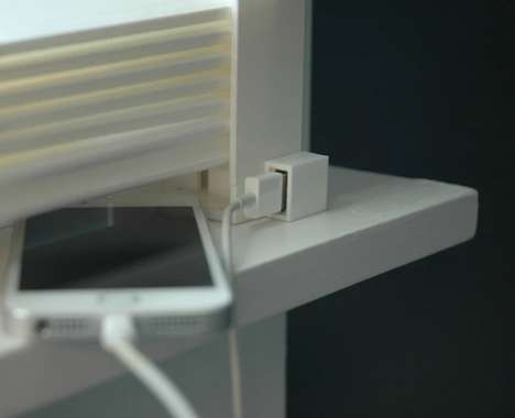 Solar-Powered Blinds