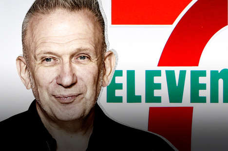Convenient Fashion Collections - A Jean Paul Gaultier Fashion Collection Will Be Sold at 7-Eleven
