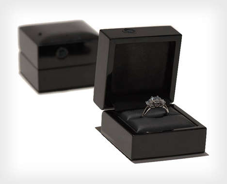Proposal-Recording Gadgets - The Ring Cam Makes Recording a Wedding Proposal Easy