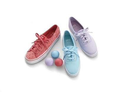 Fruity Sneaker Collaborations - The Keds and eos' Collection Shares Shoes and Lip Balms