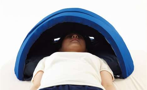 Secluding Dome Pillows - Head Tent Muffles Sound and Keeps Out Light for Optimal Sleeping Conditions