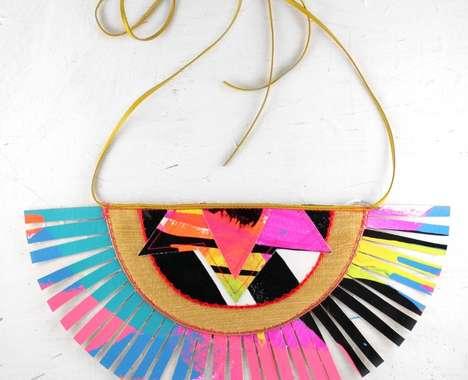 Electric-Hued Tribal Jewelry