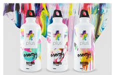 Painterly Drink Packaging