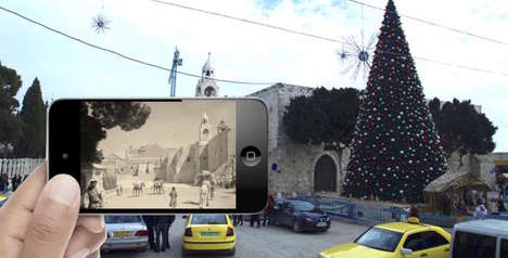 Past-Presenting Location Apps - The Pivot App Uses Augmented Reality to See the Past in the Present