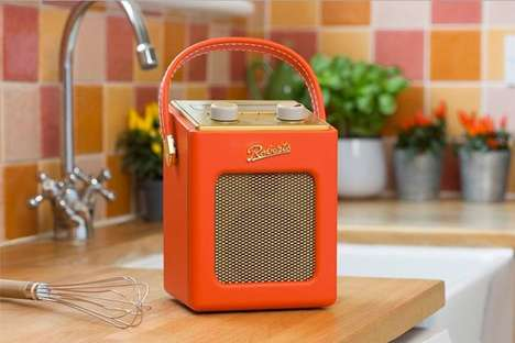 Charming Retro Radios - Roberts Radio's Revival Mini Model is Inspired by 50s Electronics