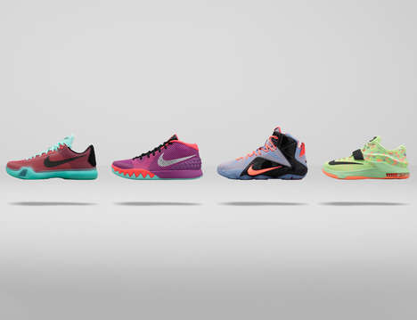 Special Pastel Sneakers - The Nike Basketball Easter Collection is Bright and Happy for the Holiday