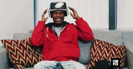 Erotic Virtual Reality (UPDATE) - A$AP Ferg and Fetty Wap Watch Virtual Reality Porn for Complex