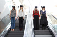VR Shopping Campaigns - Westfield's Future Fashion Project Leverages Augmented Reality