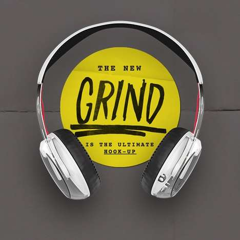 Touch-Button Headphones - The Grind from Skullcandy Features a Handy Side Control