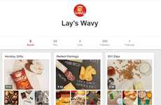 Potato Chip Cookbooks - The Lay's Wavy Brand and Brit + Co Are Teaming Up with Pinterest