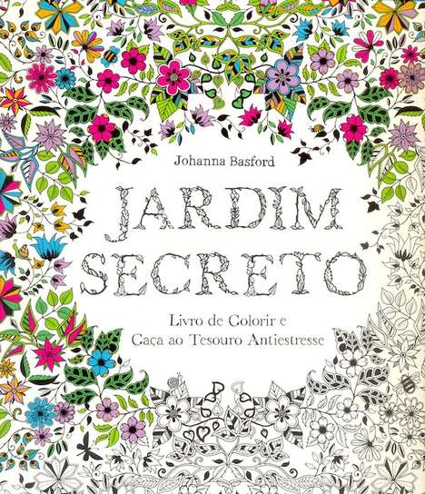 Sophisticated Coloring Books - Johanna Basford Makes an Intricate Child-Inspired Pastime for Adults