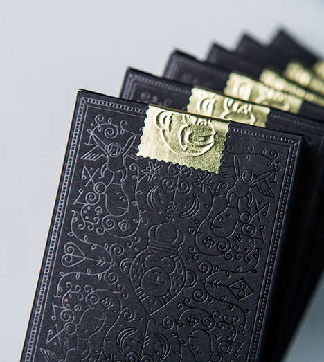 Monkey-Themed Cards - The MailChimp Playing Cards Boast a Breathtakingly Elegant Design