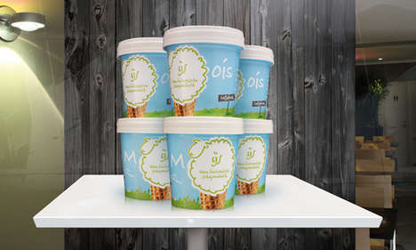 Sheep Milk Ice Cream - Moois is a Dairy Ice Cream That Offers an Alternative to Cow's Milk
