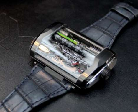 Linear Display Watches