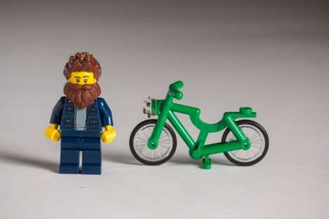 Comical Cultural Caricatures - These Hipster Lego Characters Are a Playful Nod to Danish Culture