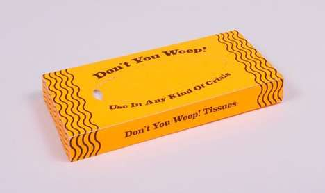 Motivational Tissues - Don't You Weep! by Hugo Santos is a Practical Box of Encouragement