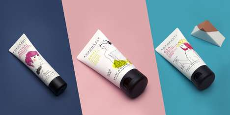 Sketched Skincare Packaging - Agronauti Cosmetics Branding Expresses the Art Behind Its Recipe