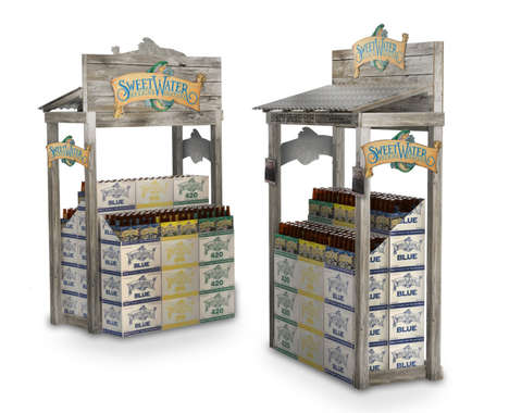 Fishing Shack Beer Displays
