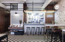 Chic Charismatic Canteens - This Moscow Wine Bar is a Quiet Eatery with a Chic Industrial Aesthetic