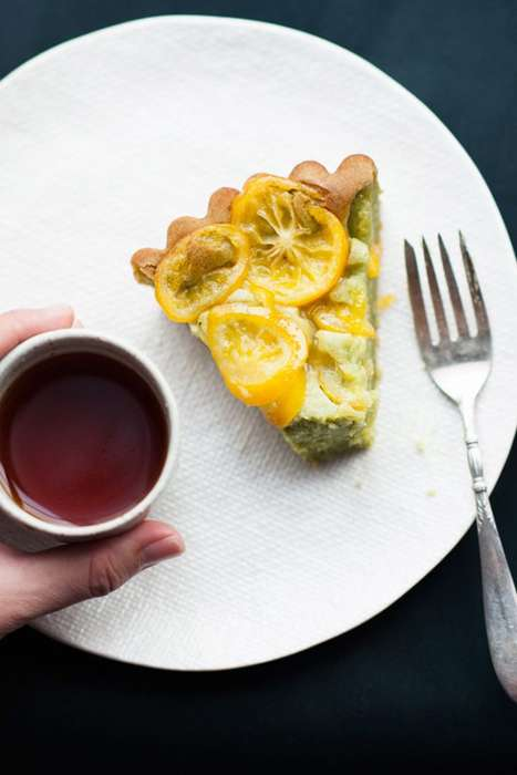 Lemon Matcha Desserts - This Matcha and Meyer Lemon Mochi Cake Combines Culinary Favorites