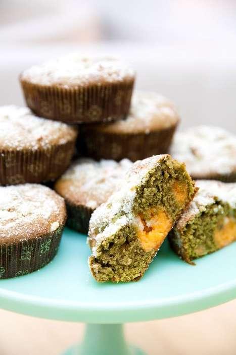 Gluten-Free Coffee Cakes - This Tasty Almond Tea Cake Recipe Incorporates Matcha Green Tea