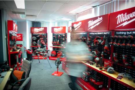Tool-Showcasing Displays - Craig Burton Created Point of Purchase Products for Milwaukee Tools