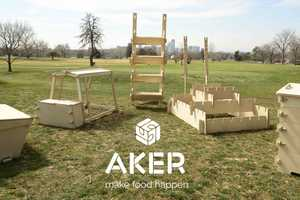 AKER Supplies Homeowners with a Complete Set of Urban Farming Equipment