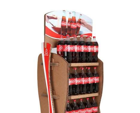 Coca-Cola Cardboard Displays