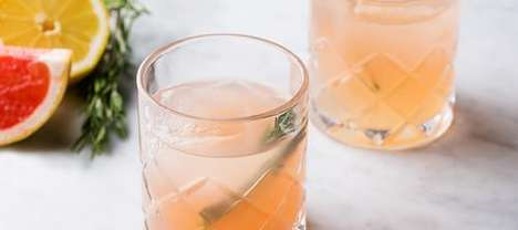 Spring-Embracing Cocktails - The Spring Forward Cocktail Will Help You Forget the Lingering Cold
