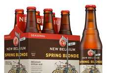 Citrusy Summer Ales - New Belgium Celebrates Warm Weather with a Refreshing Spring Beer Flavor