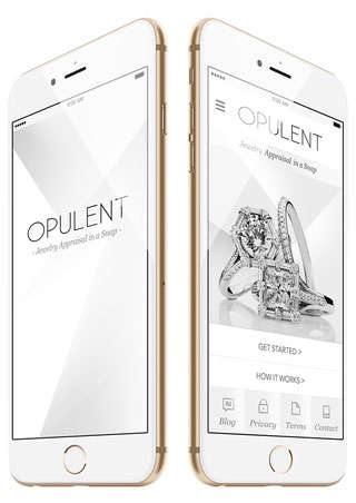 Jewelry-Selling Apps - AppSnap From Opulent Jewelers is the Latest App for the 1%