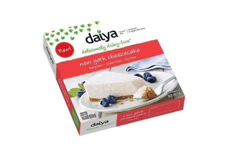 Dairy-Free Cheesecakes - Daiya's Cheezecakes Offer Indulgence with a Mock Cheese Texture