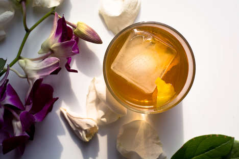Classic Drink Twists - The Elderflower Old Fashioned Subs Traditional Sugar Cube with Floral Liqueur