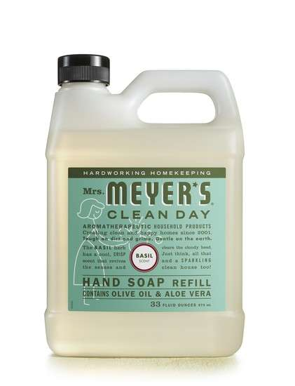 Natural Household Products - The Mrs Meyer's Clean Day Home Line is Organic and Biodegradable