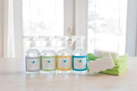 Wholesome Natural Cleaners - VeraClean's Natural Cleaning Products Pride Themselves on Purity