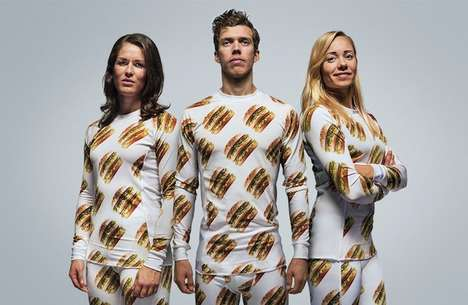 Fast Food Fashion - McDonald's Releases a Big Mac Product Line for Die-Hard Fans