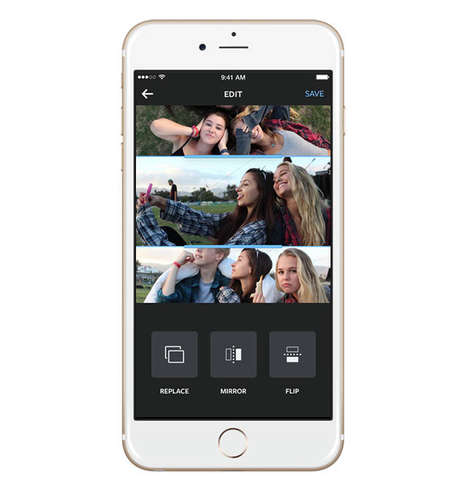 Merged Photo Apps - Instagram Layout is the Platform's Newest Photo Collaging App