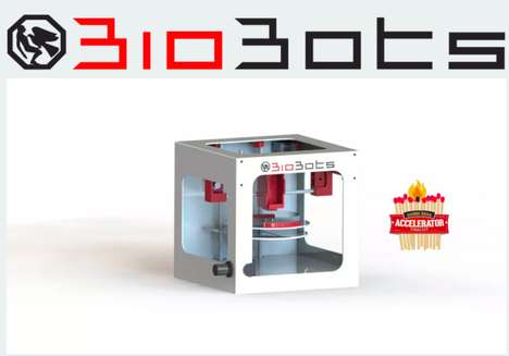Biological Cell Printers - BioBots' Medical 3D Printing Machine Creates Functional Living Tissue