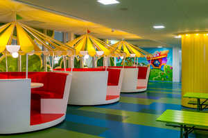 The Candy Crush Offices in Stockholm Are a Colorful Cartoon Kingdom