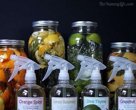 Scented Vinegar Cleaners