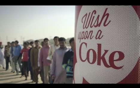 Wish-Granting Campaigns - Wish Upon a Coke Brings 'Wish Booths' to India, Pakistan & the Philippines
