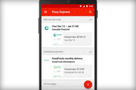 Bill-Paying Email Services - Google Pony Express to Let Users Receive and Pay Bills from Gmail