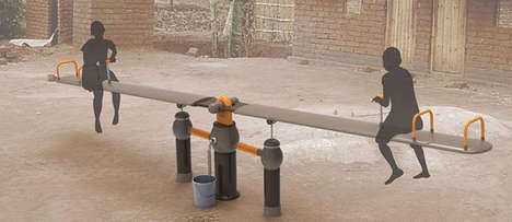 Play-Powered Pumps - Seesaw Water Filtration System Collects and Cleans H2O Through Fun Activities